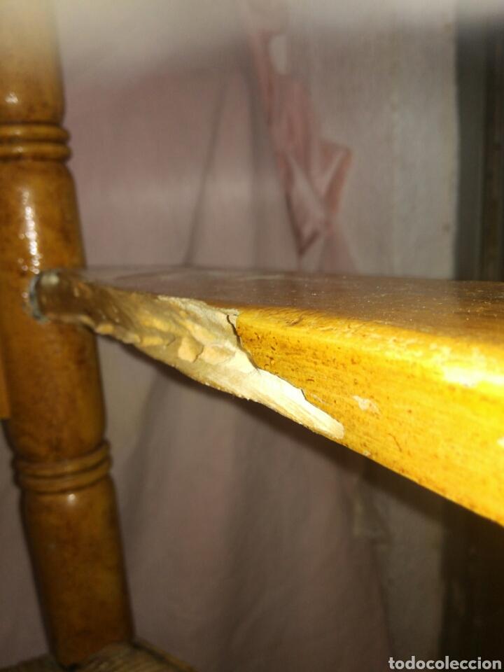 Antigüedades: Gran sillon de enea para restaurar - Foto 5 - 137395154