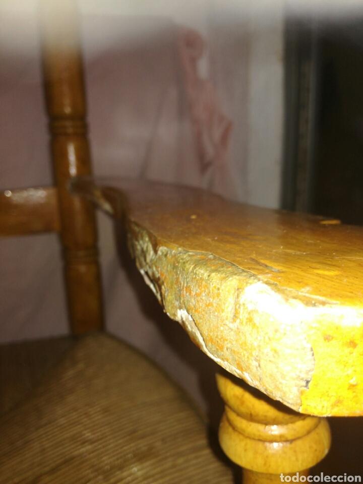 Antigüedades: Gran sillon de enea para restaurar - Foto 6 - 137395154