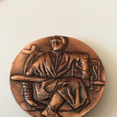 Antigüedades: MEDALLA DE BRONCE ZARAGOZA. Lote 137405794