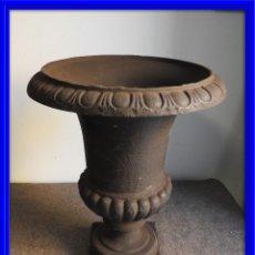 Antigüedades: COPA DE HIERRO 46 CM DE ALTURA. Lote 137416706