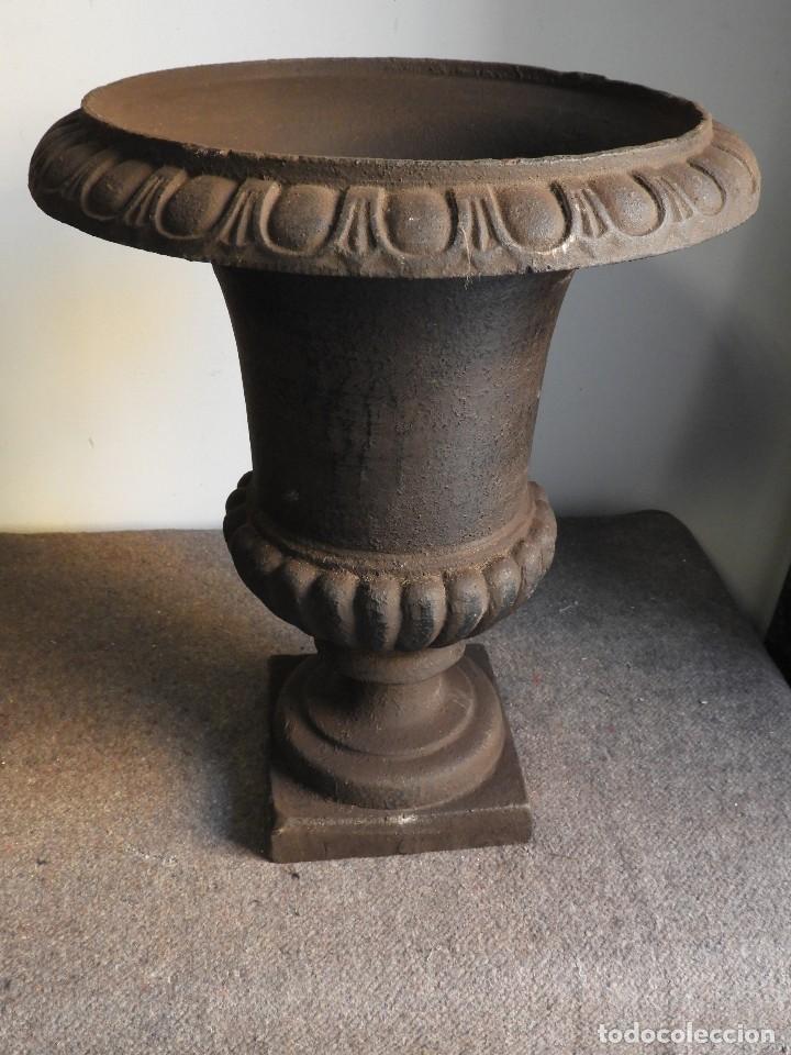 Antigüedades: COPA DE HIERRO 46 CM DE ALTURA - Foto 5 - 137416706