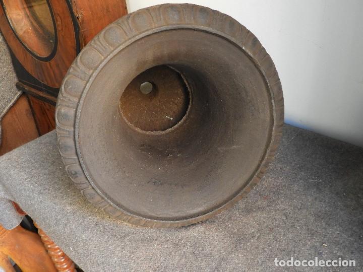 Antigüedades: COPA DE HIERRO 46 CM DE ALTURA - Foto 6 - 137416706