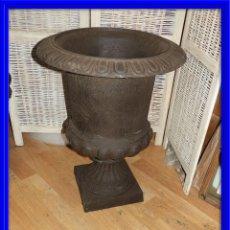 Antigüedades: GRAN COPA DE HIERRO ALTURA 73 CM.. Lote 137417010