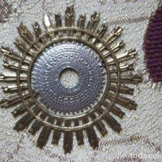 Antigüedades: ANTIGUA CORONA TIPO AUREOLA HALO RESPLANDOR PARA VIRGEN SANTO IMAGEN RELIGIOSA MUY BELLA. Lote 137417706