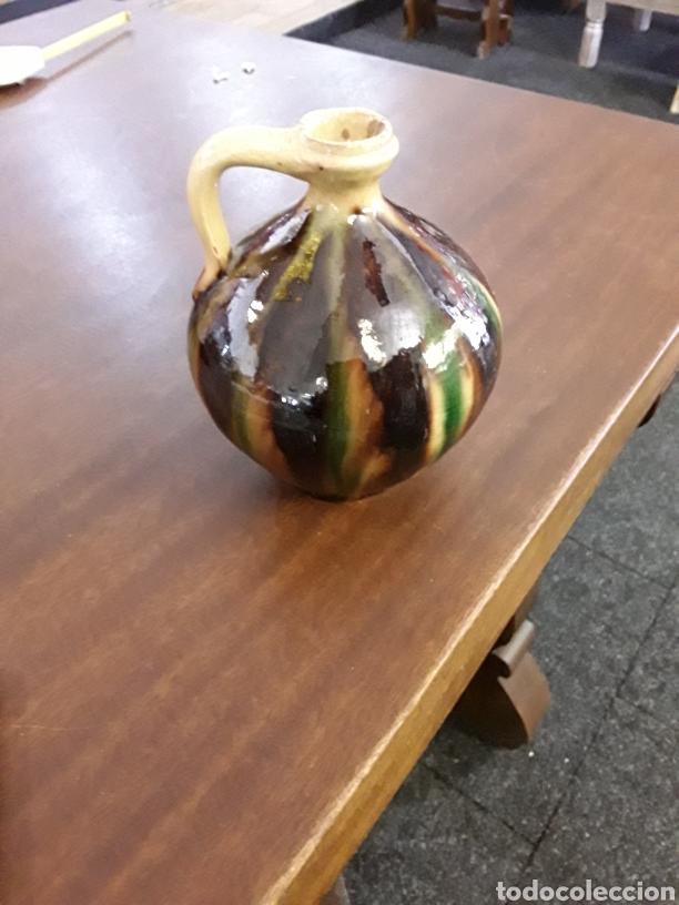 JARRA DE COLORES (Antigüedades - Porcelanas y Cerámicas - Otras)