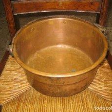Antigüedades: CALDERA COBRE. Lote 137451550