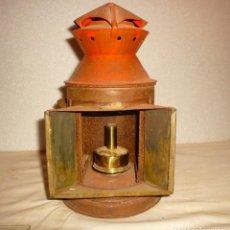 Antigüedades: FAROL DE MANO FERROVIARIO. Lote 137455274