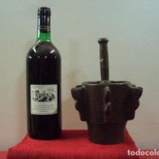 Antigüedades: IMPRESIONANTE MORTERO ALMIREZ MUDEJAR . Lote 137474338