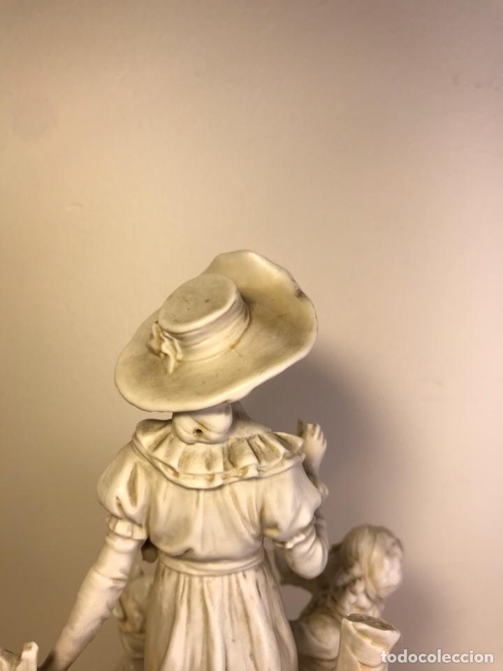 Antigüedades: Figura Porcelana Biscuit- Alemania-Scheibe Alsbach- p.m. s. XX- 21 cm - Foto 21 - 133928311