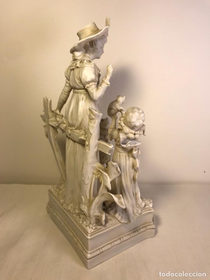 Antigüedades: Figura Porcelana Biscuit- Alemania-Scheibe Alsbach- p.m. s. XX- 21 cm - Foto 22 - 133928311