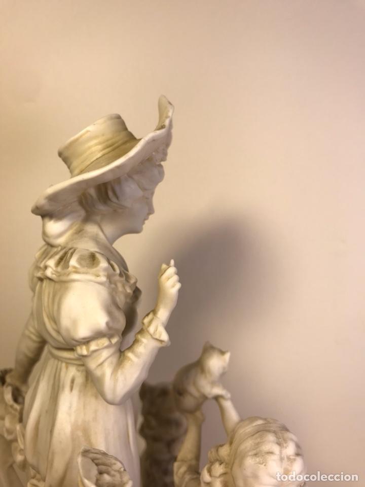 Antigüedades: Figura Porcelana Biscuit- Alemania-Scheibe Alsbach- p.m. s. XX- 21 cm - Foto 25 - 133928311
