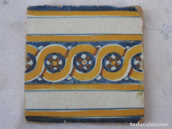 AZULEJO ANTIGUO DE TALAVERA / TOLEDO - RENACIMIENTO - FINAL S/. XVI. - 1 (Antigüedades - Porcelanas y Cerámicas - Talavera)