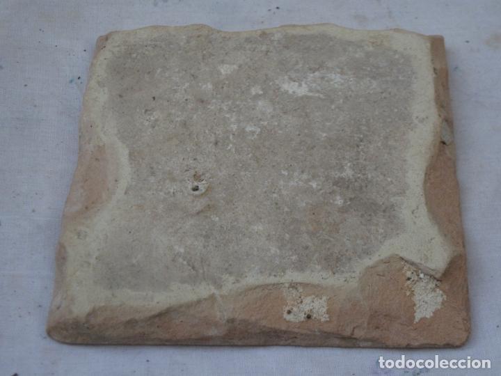 Antigüedades: AZULEJO ANTIGUO DE TALAVERA / TOLEDO - RENACIMIENTO - FINAL S/. XVI. - 1 - Foto 2 - 137520518