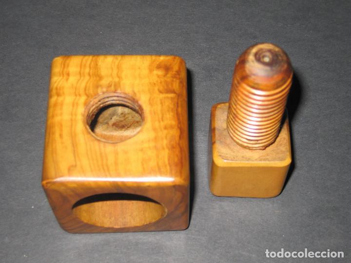 Antigüedades: Casca Nueces de Madera - años 40 - Foto 2 - 137547442