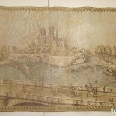 Antigüedades: ANTIGUO TAPÍZ S-XIX PARIS . Lote 137592190