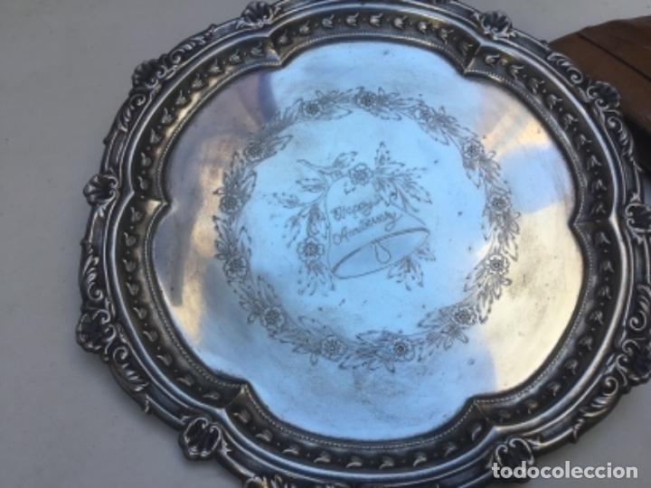 Antigüedades: Antiguo juego de té con bandeja EPNS ideal regalo de aniversario - Foto 7 - 111406279