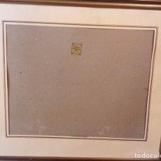 Antigüedades: MARCO SIGLO XX EN MADERA DORADA (PAN DE ORO O IMITACIÓN) 65X57 CM. Lote 137611282