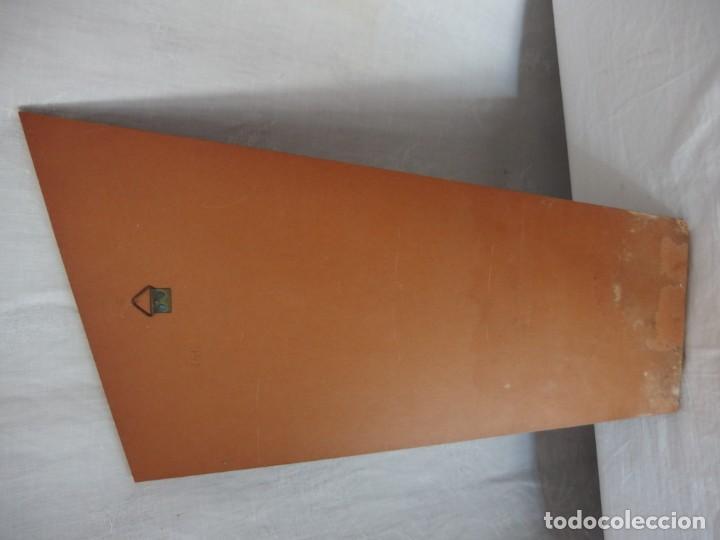 Antigüedades: VIRGEN NIÑA ESTUCO POLICROMADO - Foto 3 - 137614998