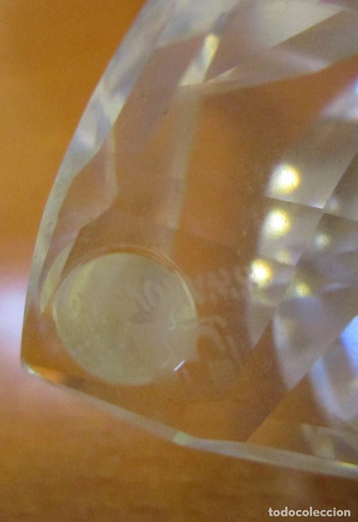 Antigüedades: Cisne cristal Swarovski sellado - Medidas: Largo 5,5Cm. Alto 4,5Cm. Ancho 3,5 Cm. - Foto 4 - 137621558
