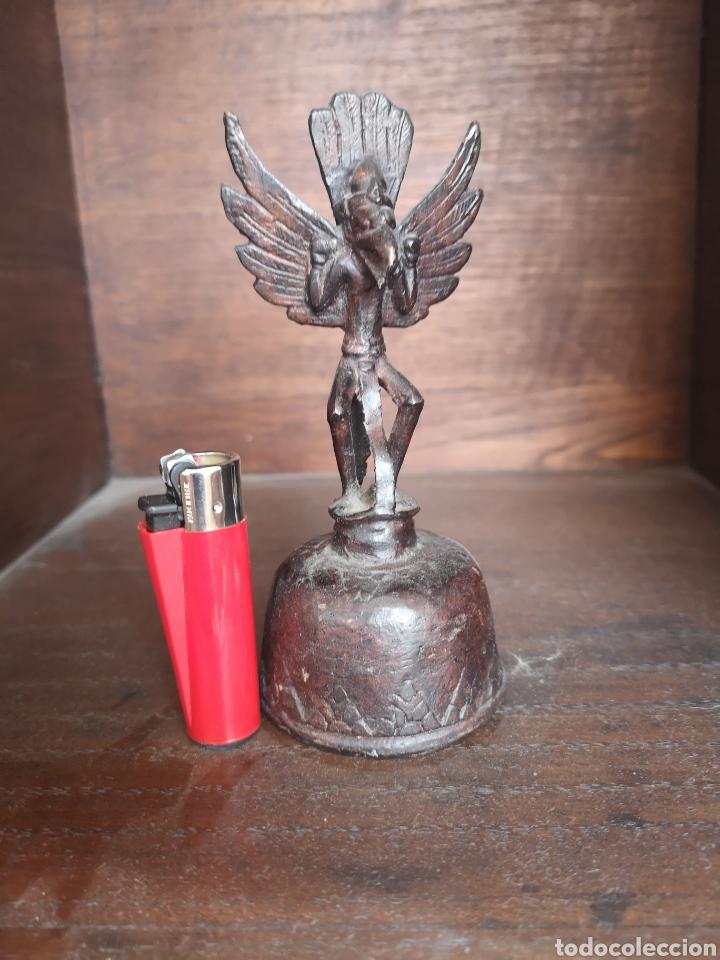 Antigüedades: Antigua campana inca o similar - Foto 5 - 137635258