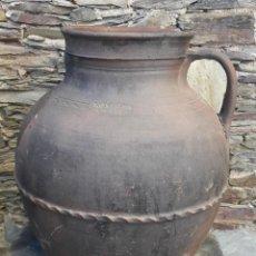 Antigüedades: ORZA ,TINAJA CERÁMICA CASTELLANA. Lote 137639294