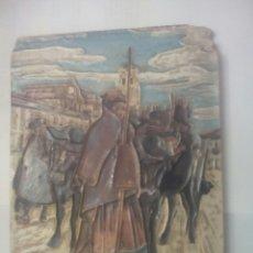 Antigüedades: EL BOYERO CASTELLANO. SEGOVIA. DE ZULOAGA. Lote 137651946