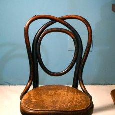 Antigüedades: SILLA JACOB & JOSEF KOHN DE NIÑO ANTIGUA MADERA VINTAGE THONET. Lote 137654622