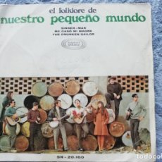 Discos de vinilo: NUESTRO PEQUEÑO MUNDO - EL FOLKLORE DE NPM - 1968. Lote 137668614