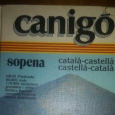 Diccionarios: CANIGO. Lote 137670006
