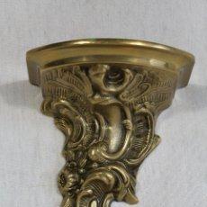 Antigüedades: MENSULA EN BRONCE . Lote 137684570