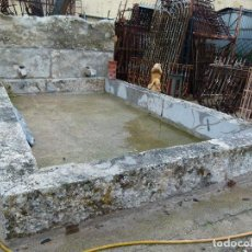 Antigüedades: GRAN FUENTE DE PIEDRA. Lote 137691410