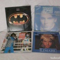 Discos de vinilo: LOTE 4 MAXISINGLES BSO AÑOS 70-80 EXCELENTE ESTADO. TITULOS E INTERPRETES EN FOTOS ADJUNTAS. Lote 137707486