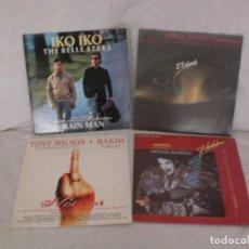 Discos de vinilo: LOTE 4 MAXISINGLES DE BSO, AÑOS 70-80. FOTOS E INTERPRETES EN FOTOS ADJUNTAS. Lote 137708326