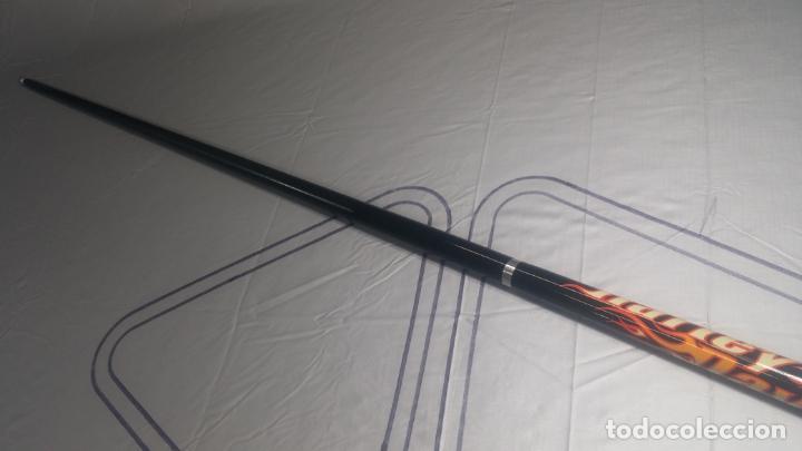 Antigüedades: Taco o palo Harley Davidson de billar y snooker de grafito negro de Jonny 8 Ball - Foto 11 - 137725426