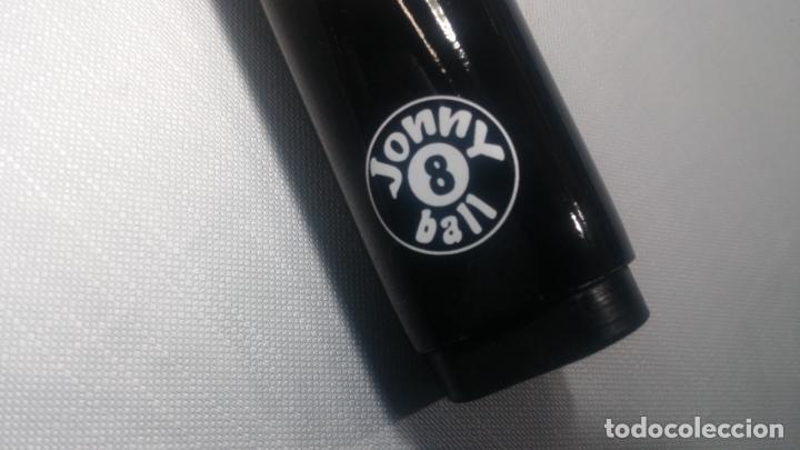 Antigüedades: Taco o palo Harley Davidson de billar y snooker de grafito negro de Jonny 8 Ball - Foto 28 - 137725426