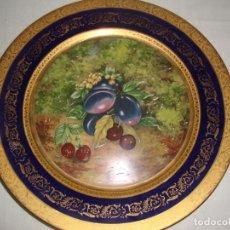 Antigüedades - Plato Porcelana Seizan, Japón - 28,7 cm - 137726034