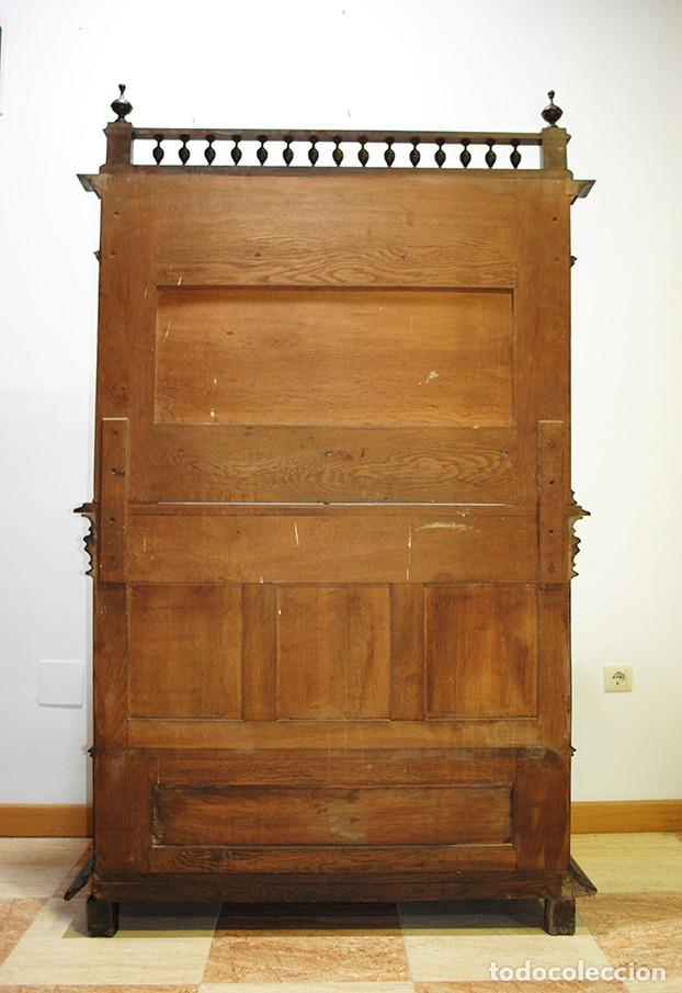 Antigüedades: ANTIGUO MUEBLE TRINCHERO APARADOR EN MADERA DE NOGAL - Foto 10 - 137732866