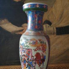 Antigüedades: JARRÓN CHINO 63CM DE ALTURA. Lote 137748497