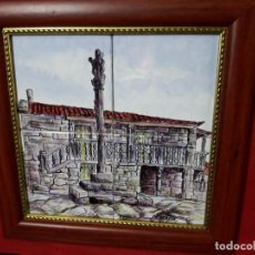 Antigüedades: AZULEJOS FIRMADOS GARIN. Lote 137754466