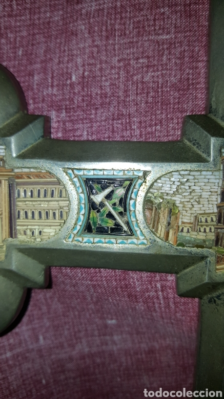 Antigüedades: GRAN CRUZ CON VISTAS DE MICROMOSAICOS - Foto 4 - 137767368