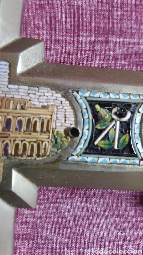 Antigüedades: GRAN CRUZ CON VISTAS DE MICROMOSAICOS - Foto 6 - 137767368