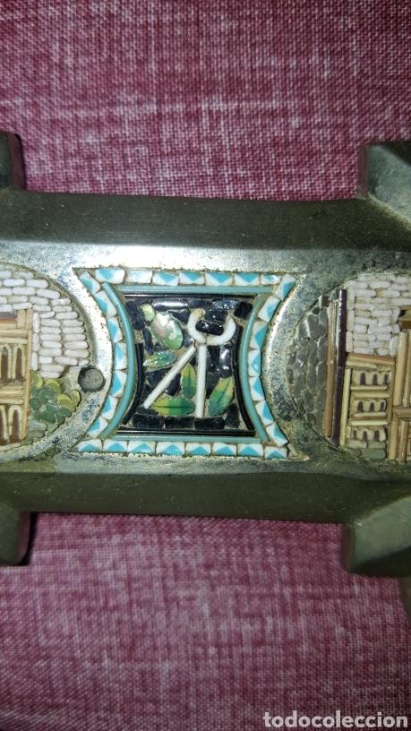 Antigüedades: GRAN CRUZ CON VISTAS DE MICROMOSAICOS - Foto 7 - 137767368