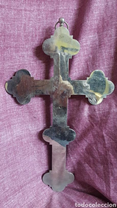 Antigüedades: GRAN CRUZ CON VISTAS DE MICROMOSAICOS - Foto 15 - 137767368