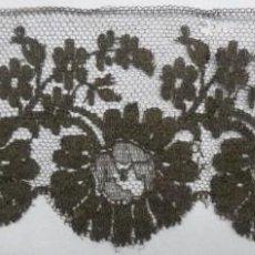 Antigüedades: ANTIGUO BAJO DE ENCAJE - S.XIX. Lote 137773774