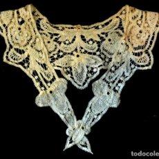 Antigüedades: ANTIGUA CAPELINA DE ENCAJE - S.XIX. Lote 137809826