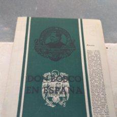 Antigüedades: ANTIGUA REVISTA DON BOSCO EN ESPAÑA 1949. Lote 137852645