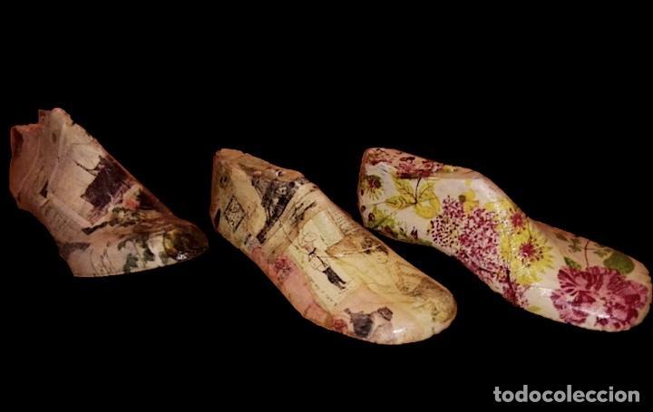 PRECIOSAS HORMAS ANTIGUAS DE NIÑO DECORADAS. (Antigüedades - Varios)
