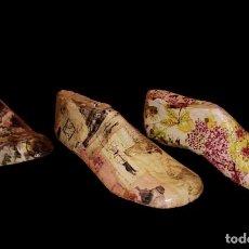 Antigüedades: PRECIOSAS HORMAS ANTIGUAS DE NIÑO DECORADAS.. Lote 137871746