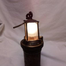 Antiquitäten - Antiguo farol de barco electrificado - 137878094