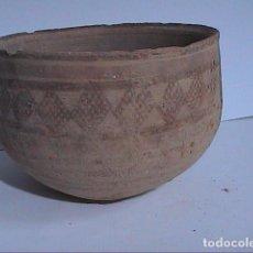 Antigüedades: EXCELENTE CUENCO EN TERRACOTA POLICROMADA.CIVILIZACIÓN VALLE DEL INDO. MOHENJO DARO. 2000 A.C.. Lote 172869502